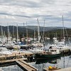 We arrived in Hobart, picked up our friends, and headed out to Bruny Island...