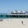 Busselton, which sits along the southern side of Geographe Bay, is best known for its very long jetty,