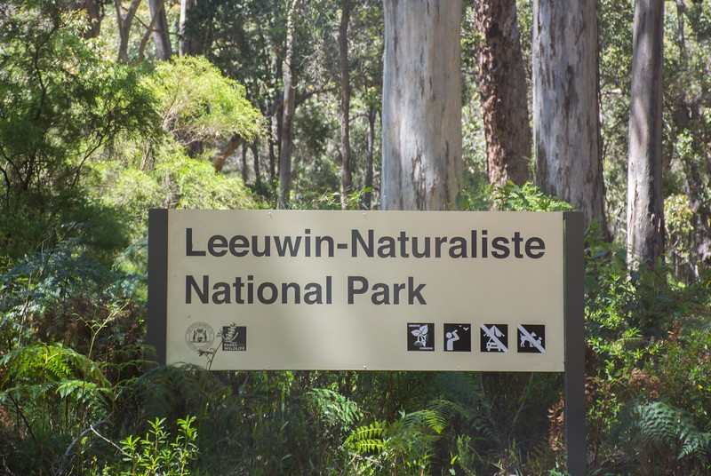 The Leeuwin-Naturaliste NP covers the coastline between these two capes.