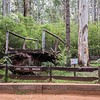 This entire bridge had been built from the wood of one Jarrah tree.