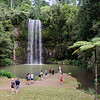 We are used to falls being huge in the distance, but in Australia they are often close to the road and well used by lookers and bathers alike.