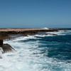 Driving down the west coast of Australia, we headed towards the water to meet up with friends at the rugged Quobba Blowhole along the Indian Ocean.  It was a beautiful place along the rugged coastline.