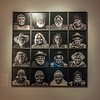 These 16 Aboriginal artists were being featured in the temporary exhibit we saw --
