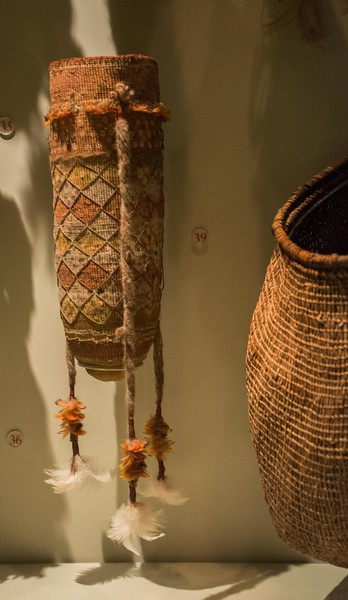 For all societies, basketry and carrying implements are of maximum importance.
