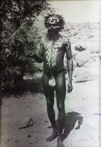 "We presume this is a picture of a ""medicine man"" -- which is not, of course, what he was called."