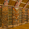 Unlike other fine museums we visited in New Zealand, photography without flash is allowed in the Maori area.  We really appreciated that.