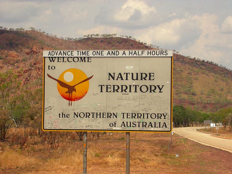 Au 2361 bord northern Territory