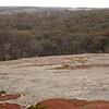 Au 0218 uitzicht vanaf Boyagin Rock