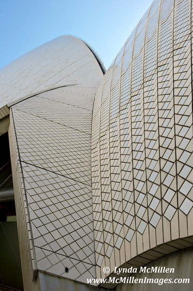 Over  1 million beige and white tiles create the roof of Sydney Opera House.