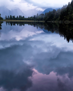 Could it be anything but reflection lake at Sunrise in Greymouth?