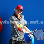 19-1-15.  Australian Open 2015.  Dudi Sela on his way to a five set first round win against  Germany