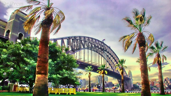 Colossal And High--The Sydney Harbor Bridge
