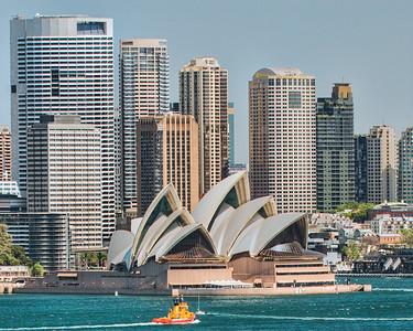 Sydney Opera House View - Sydney Australia