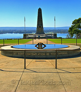 War Memorial in King's Park, Perth