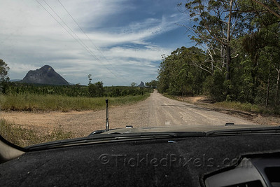 In Search of the Glass House Mountains