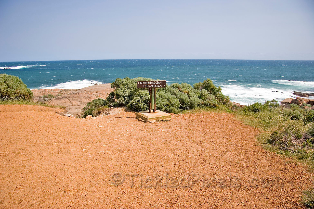 The most south westerly tip of Australia, where two oceans meet.