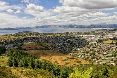 Rotorua from Mount Ngongotaha
