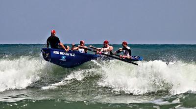 Surfboat - Red Beach N.Z.