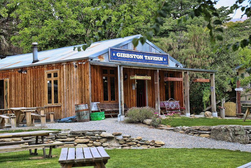 Gibbston Tavern Wine Tasting