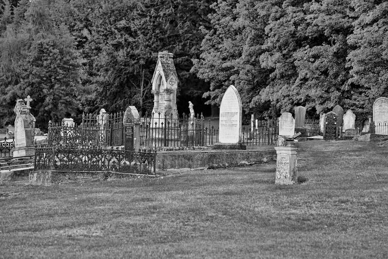 Graveyard in Queenstown, NZ