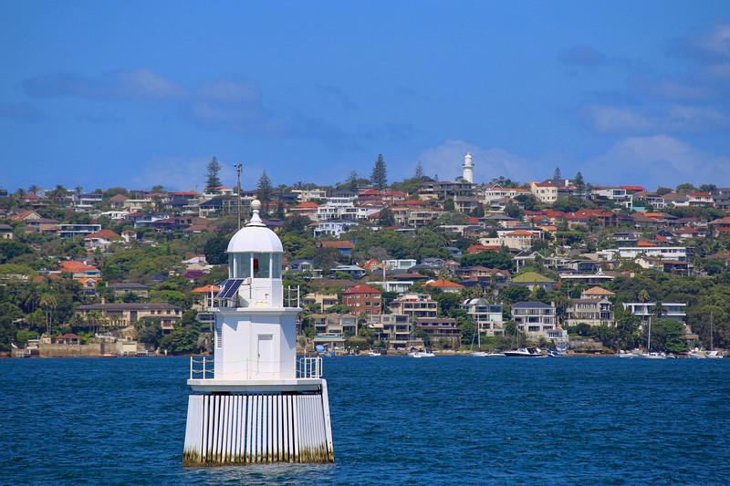 Taken from the ferry in Sydney, Australia