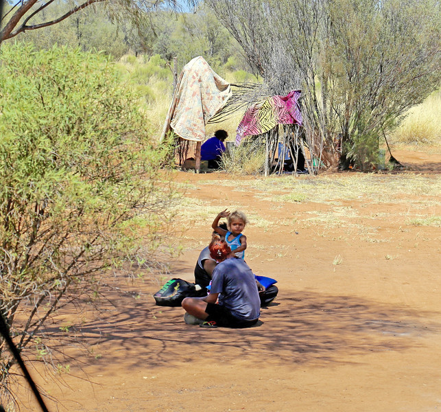 Aboriginal Child Waving