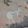 Rock art at Angbangbang rock shelter. The site of these rock art paintings is known to have been used by aboriginal people as early as 20,000 years ago. Kakadu National Park, Australia