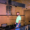 Me in the Melbourne Gaol where they hanged Ned Kelly.