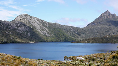 Hiking around Dove Lake, Tasmania