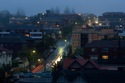 Mist over Coogee