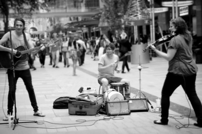 Musicians, Sydney CBD
