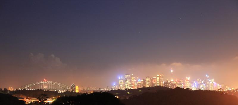Widok na Sydney z sekretnego miejsca Eweliny i Michala