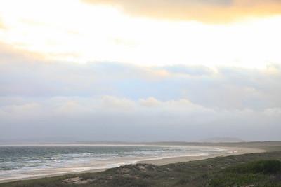 Plaża, do której udało nam sie dojechać pierwszego dnia