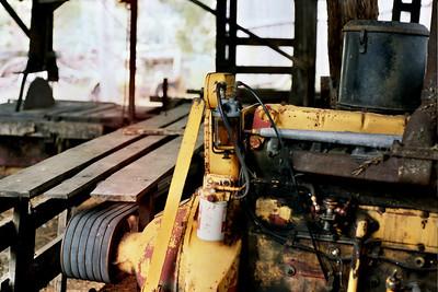 Abandoned sawmill
