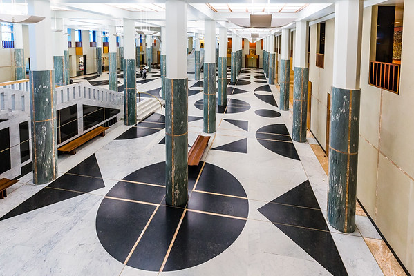 The Marble Foyer of Parliament House