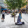 Playing on Rundle Mall