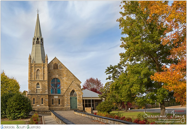 St. Paul's Lutheran Church in Hahndorf, South Australia