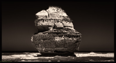 The rocky sail boat... This limestone structure so looks like a ship with sails @gibson steps/12 apostels, great ocean road