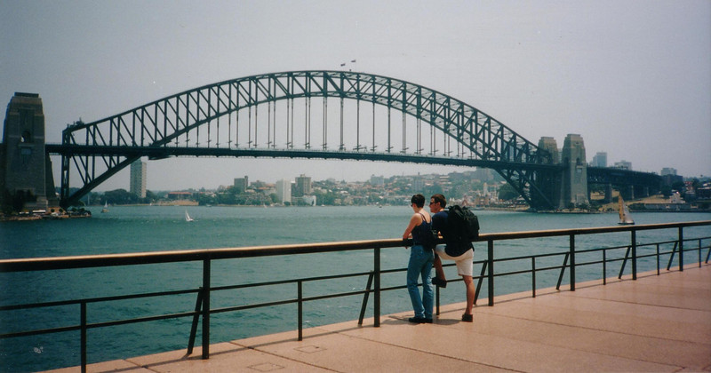 view from the Opera House, 1997