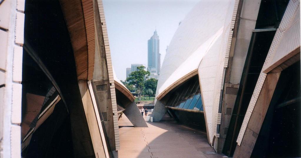 Sydney Opera House construction - 1997