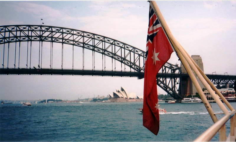 The bridge and Opera House two of the most known symbols of Sydney - 1997