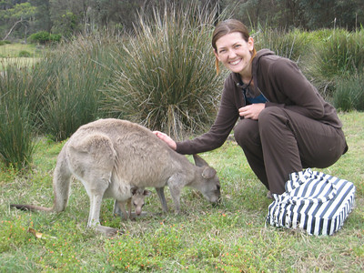 Momma and her Joey