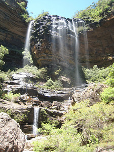 Wentworth Falls: Upper