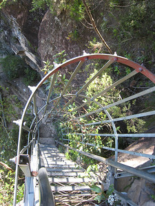Wentworth Falls: Staircase