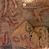 "2500 year old rock art in the ""Art Gallery"" in Carnavan Gorge."