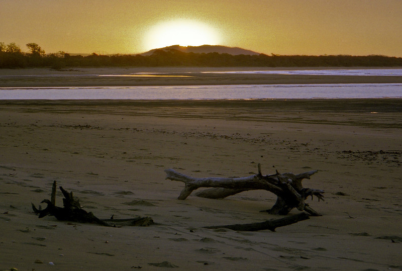 Sunset at Bustard Bay