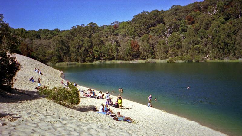 Lake Wabby, Fraser Island