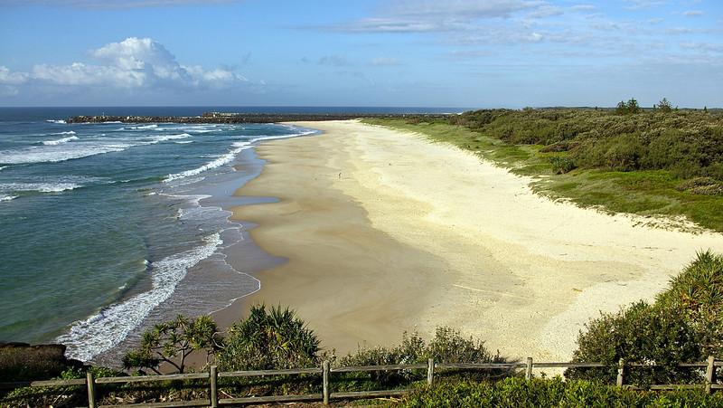Lighthouse Beach in Ballina NSW