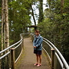 Robyn at walk in Dorrigo National Park