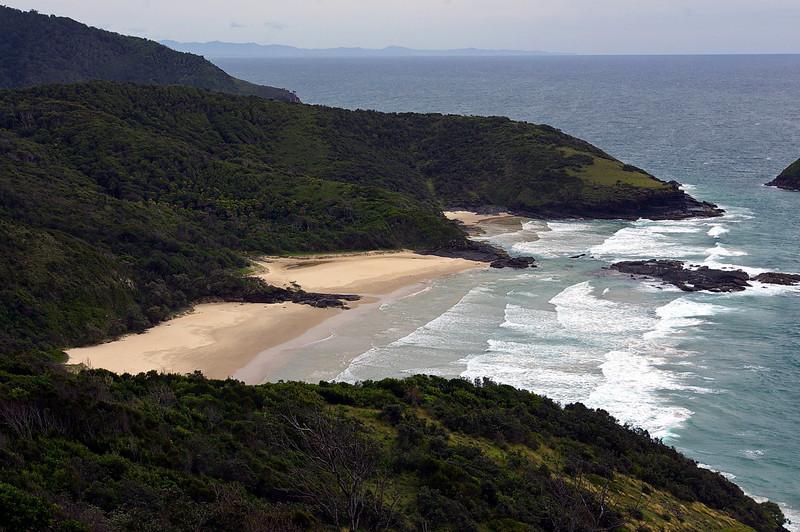 North Smokey Beach at Hat Head National Park near South West Rocks NSW